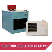 Suspended Oil Fired Heaters